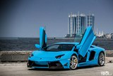 Lamborghini Aventador LP 700-4 by DMC in Azure Blue Color