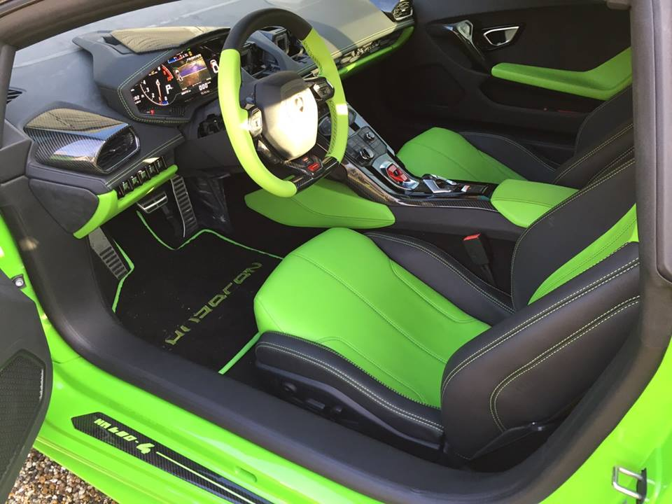 2015 lamborghini huracan lp 680 4 by oakley design interior photo green interior seats. Black Bedroom Furniture Sets. Home Design Ideas