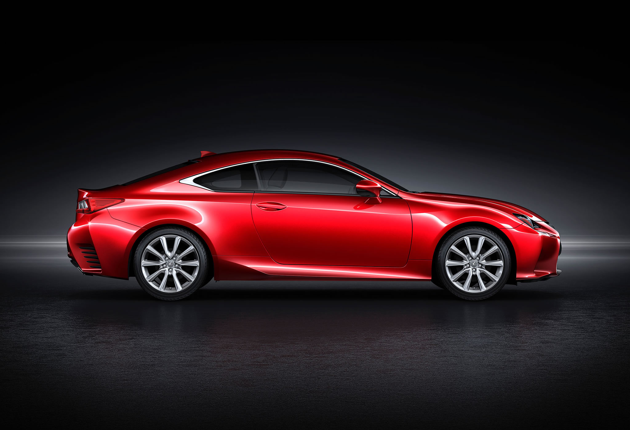 2015 Lexus Rc 350 Coupe Side Photo Red Color Size 2048