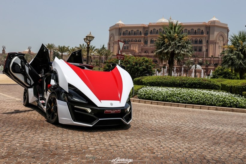 Lykan Hypersport By Dubai Police Front Photo Size 850 X 567 Nr