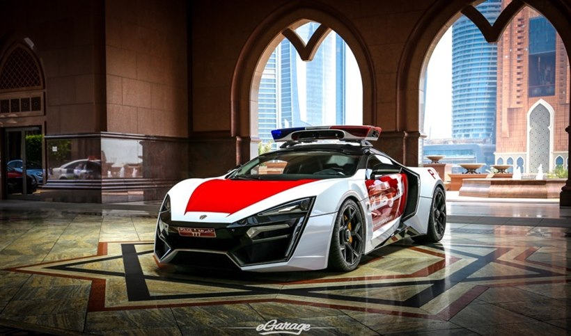Lykan Hypersport By Dubai Police Front Photo Size 850 X 501 Nr