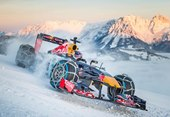 Max Verstappen's Snow Demonstration in RB7 Formula 1 Car [w/ video]