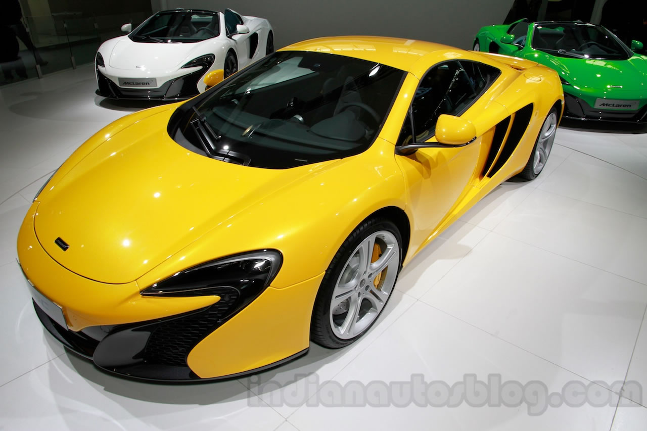 2015 Mclaren 625c Coupe Front Photo Yellow Color Size