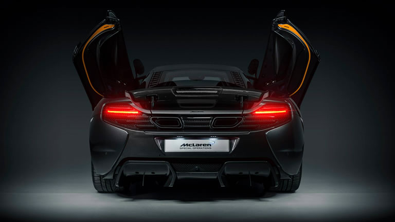 McLaren MSO Presents a New Customized 650S: Project Kilo