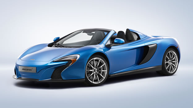 Mclaren 650s Spider Mso In Cerulean Blue Color Rssportscars