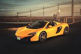 Photoshoot: Volcano Yellow McLaren 650S Spider