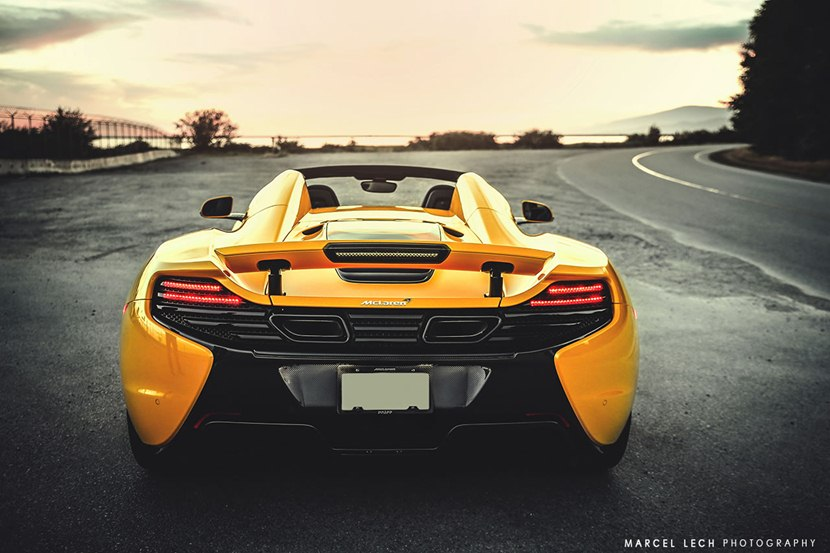 2015 Mclaren 650s Spider In Volcano Yellow Color Rear Photo Taillights Size 1280 X 853 Nr 14 23 Rssportscars Com