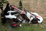 McLaren F1 Crashes in Italy [w/ video]