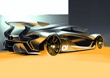 McLaren Previews P1 GTR Track Car Ahead of Debut