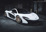 Photoshoot: McLaren P1 with Golden PUR Wheels