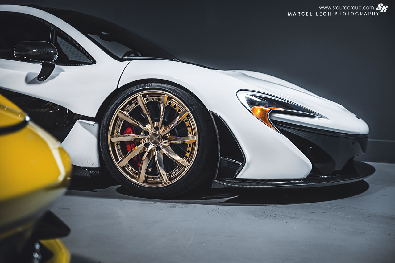 Rolls Royce Models >> 2015 McLaren P1 with Golden PUR Wheels - detail photo, rim ...