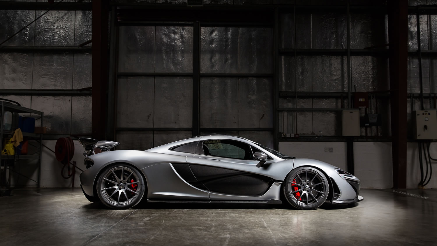 2014 Mclaren P1 Team Galag Side Photo Size 1500 X 844