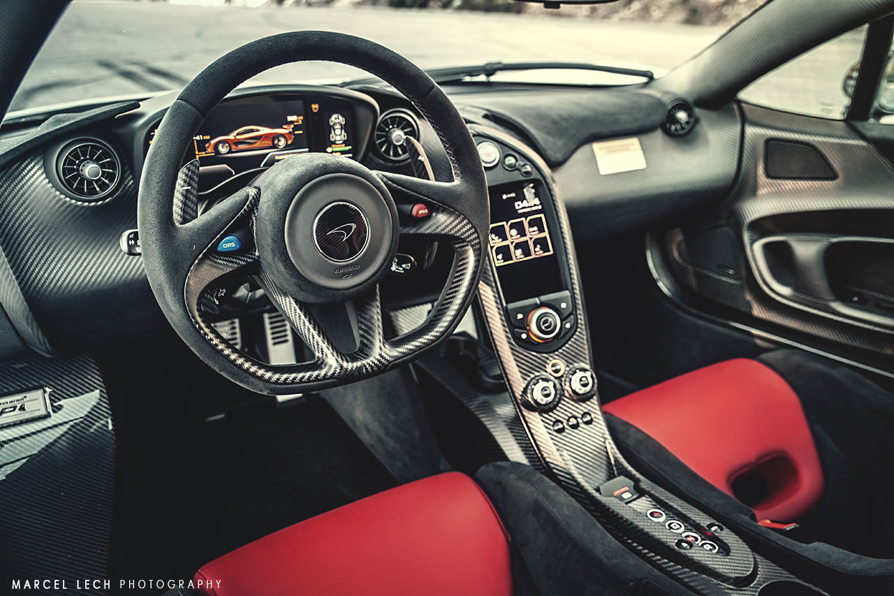 Mclaren P1 At Vancouver Ski Resort Interior Photo Size