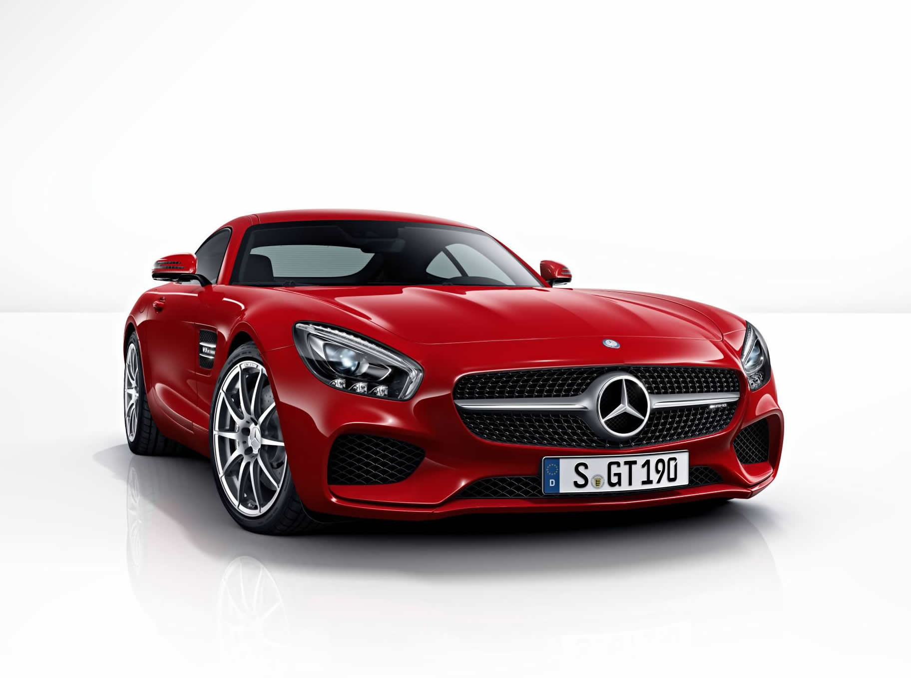 Anderson Ford Mazda >> Mercedes-AMG GT: Complete Color Palette - front photo, red ...
