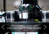 Mercedes Publishes Incredible 360-Degree Onboard Video of Formula 1 Car