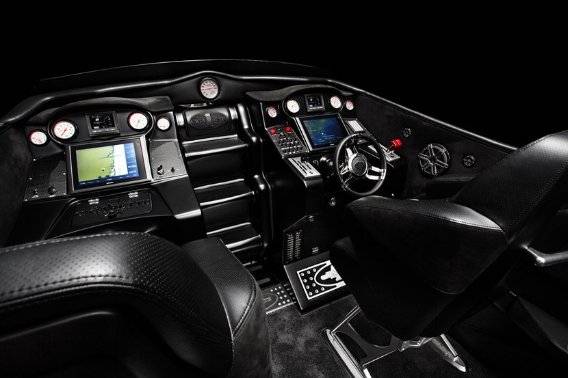 Pagani Huayra For Sale >> Cigarette Racing 50' Vision GT Concept Boat - interior photo, size 2048 x 1365, nr. 7/8 ...