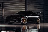 Nissan GT-R with ADV.1 Wheels and Voltex Rear Wing