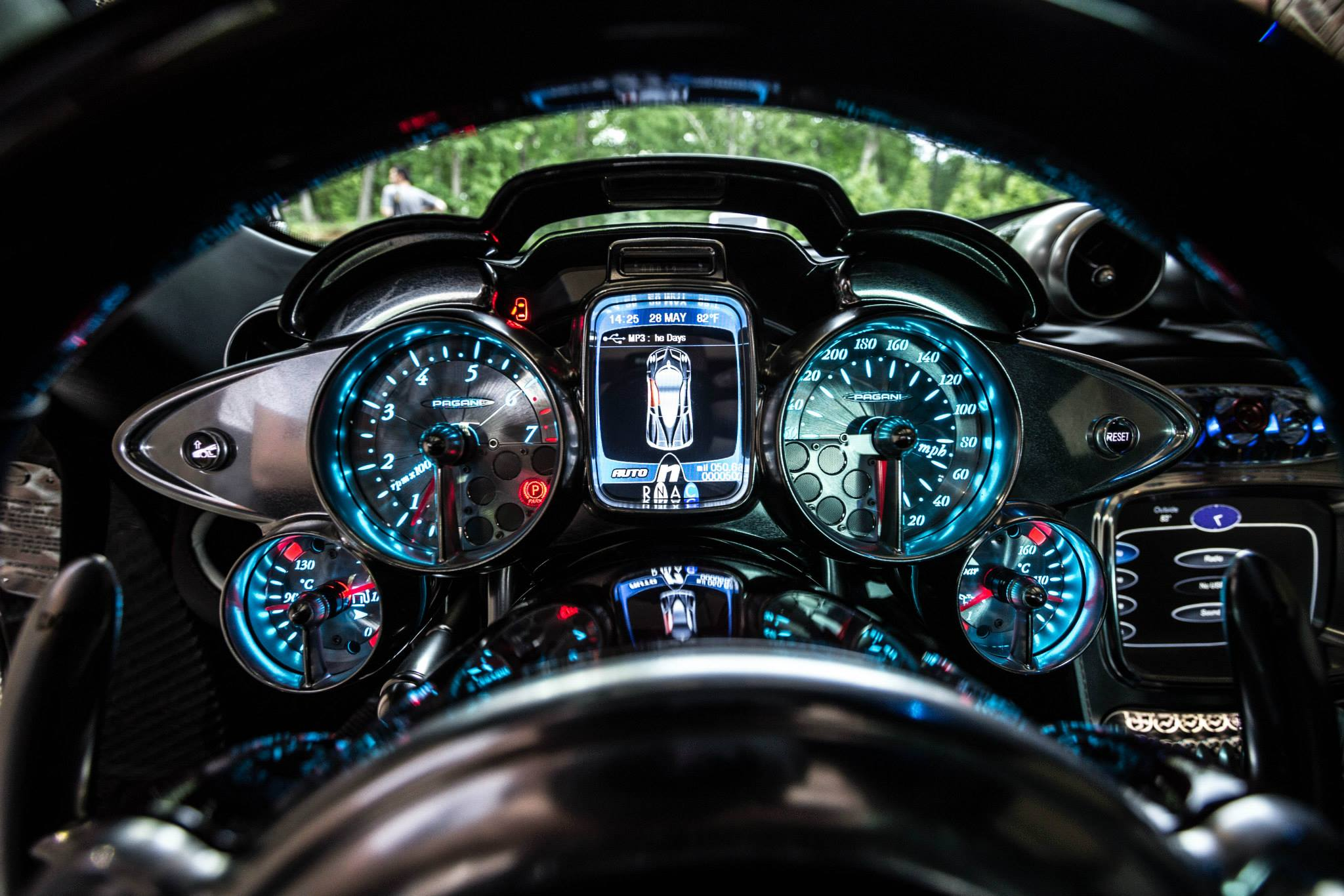Quot 1 Of 1 Of 1 Quot Pagani Huayra Interior Photo Speedometer