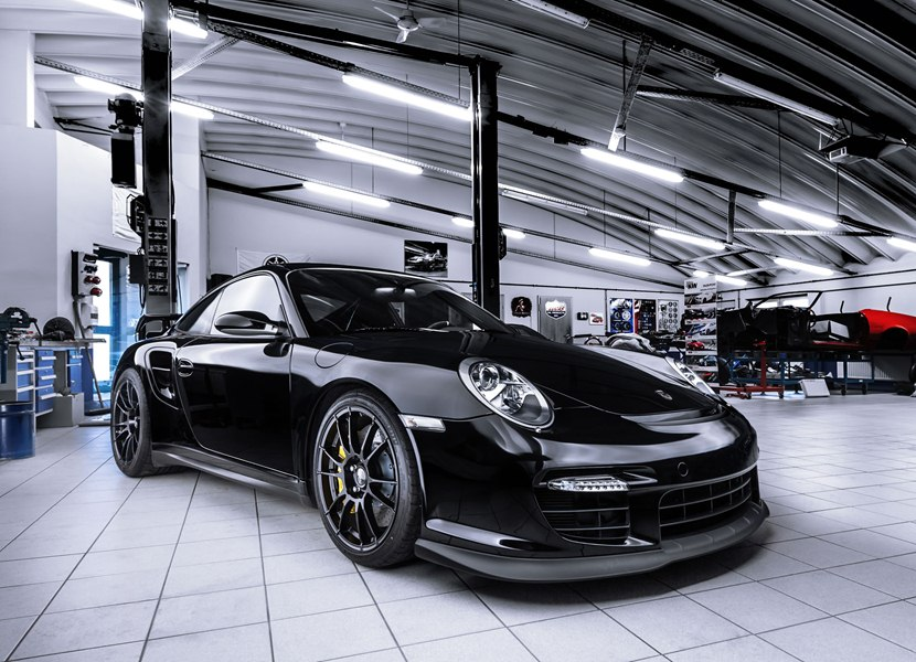 porsche 911 gt2 club sport by ok tuning front photo black color size 2048 x 1480 nr 1 13. Black Bedroom Furniture Sets. Home Design Ideas