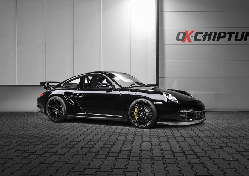 porsche 911 gt2 club sport by ok tuning front photo black color size 2048 x 1453 nr 2 13. Black Bedroom Furniture Sets. Home Design Ideas