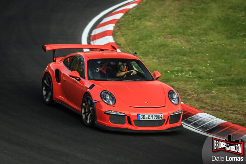 Ferrari 458 Italia For Sale >> Mark Webber Drives 2016 Porsche 911 GT3 RS on Nurburgring Nordschleife - front photo, Lava ...