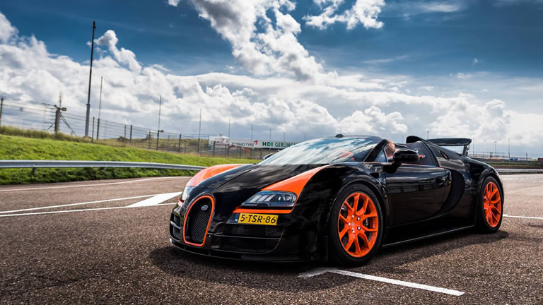 2013 bugatti veyron 16 4 grand sport vitesse wrc front view orange wheels world record. Black Bedroom Furniture Sets. Home Design Ideas