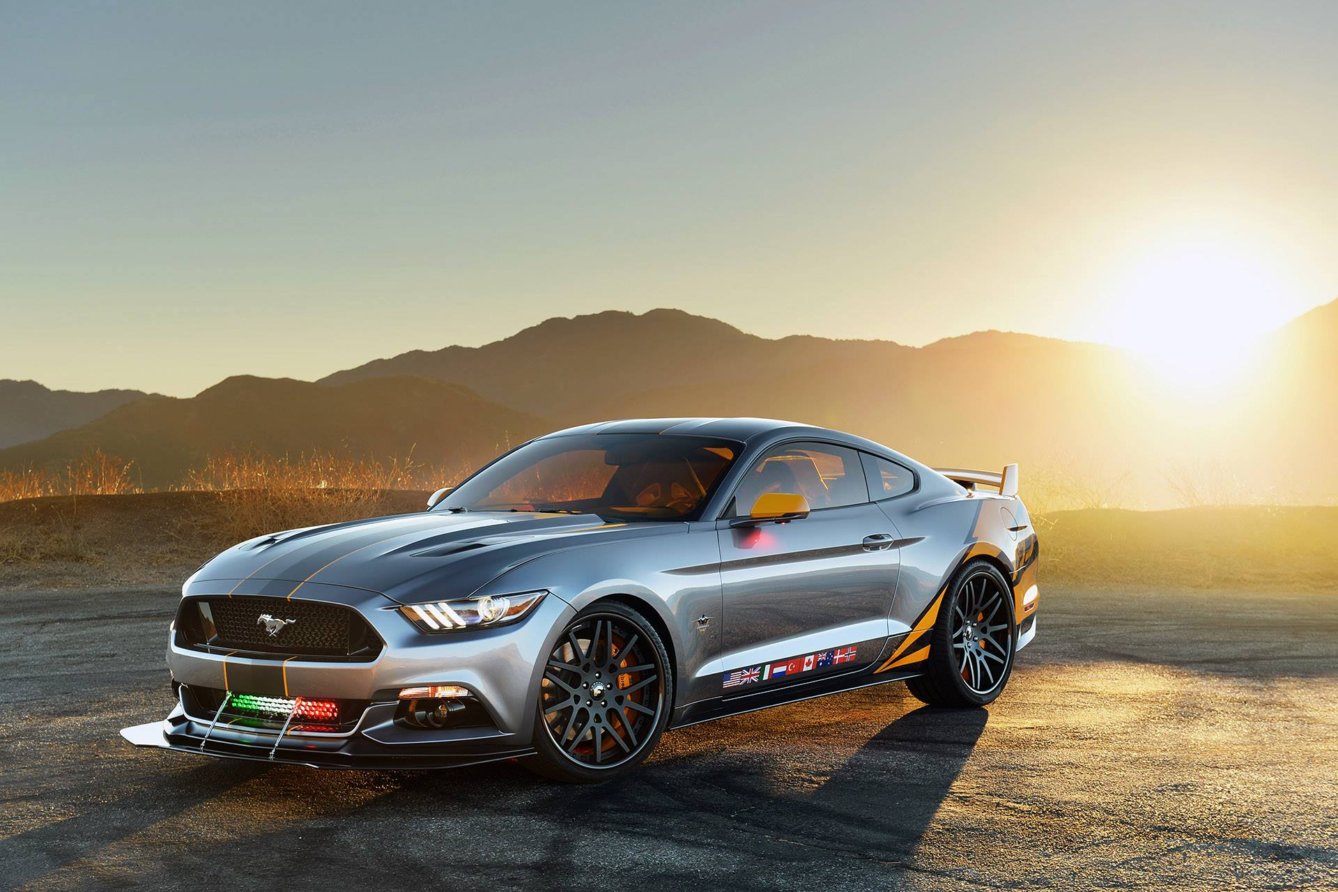 One off 2015 ford mustang f 35 lightning ii edition