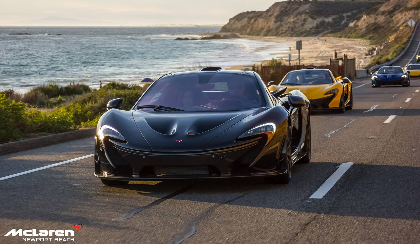 Fire Black Mclaren P1 P1 Drive Organized By Mclaren