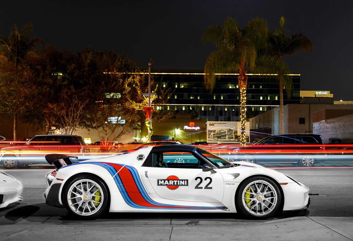 2015 porsche 918 spyder weissach martini racing side. Black Bedroom Furniture Sets. Home Design Ideas