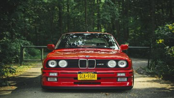 BMW E30 M3 - Red Color