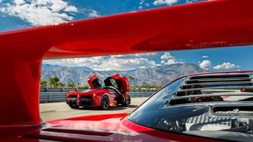 Ferrari LaFerrari from F40 Perspective