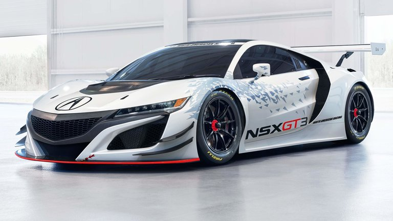 Acura NSX GT3 Car