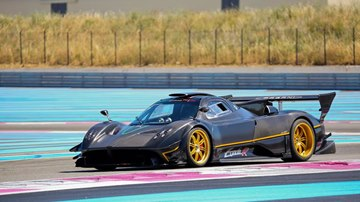 Pagani Zonda R at Paul Richard