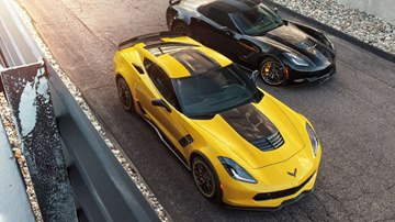 Yellow and Black: Corvette Z06