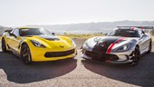 2015 Chevrolet Corvette Z06 (Z07) vs. 2016 Dodge Viper ACR