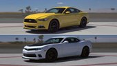 American Rivalry: 2015 Ford Mustang GT vs. 2015 Chevrolet Camaro SS