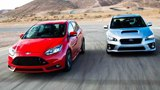 2014 Ford Focus ST vs. 2015 Subaru WRX