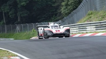 Watch Porsche Shred the Nürburgring Lap Record
