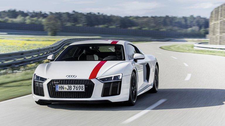 The limited edition Audi R8 Coupé V10 RWS