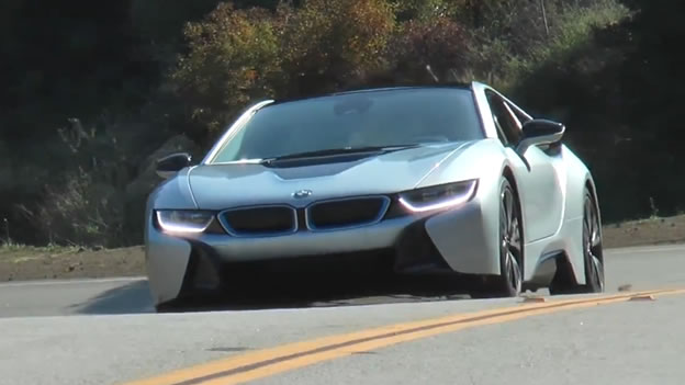 Southern Motors Acura >> Video: BMW i8 on Mulholland Drive in Southern California ...