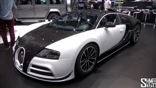 video bugatti veyron vivere by mansory. Black Bedroom Furniture Sets. Home Design Ideas
