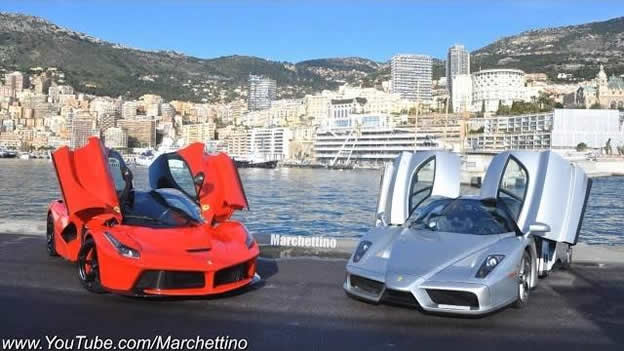 Video: Ferrari Enzo Chasing LaFerrari on Monaco Mountain Road ... on ferrari electric car, ferrari f100, ferrari f60, ferrari meme, ferrari aliante, ferrari ego, ferrari lamborghini mix, ferrari f750, ferrari bike, ferrari laptop, ferrari f1, ferrari f1000, ferrari of the future, ferrari concept, ferrari formula 1, ferrari cop car, ferrari logo, ferrari ff, ferrari suv,