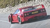 Road Trip with Ferrari F40 Across the Swiss Alps