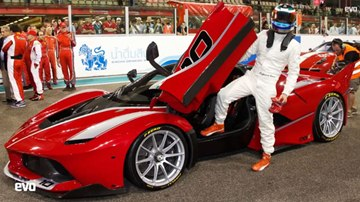 Ferrari Formula 1 Test Driver Talks About 1,035-Horsepower FXX K