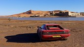 Harry Metcalfe Drives His Ferrari Testarossa to Sahara Desert