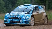 Ford Fiesta WRC 2017 First Test with Eric Camilli