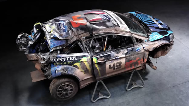 Video Ken Block Explains His Horrific Rally America Crash