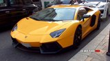 Spotted: Yellow Lamborghini Aventador by DMC in London