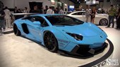 SEMA 2014: Lamborghini Aventador LP 720-4 by Liberty Walk with Armytrix Exhaust