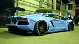 Sights and Sounds: Lamborghini Aventador LP 720-4 50th Anniversary by Liberty Walk